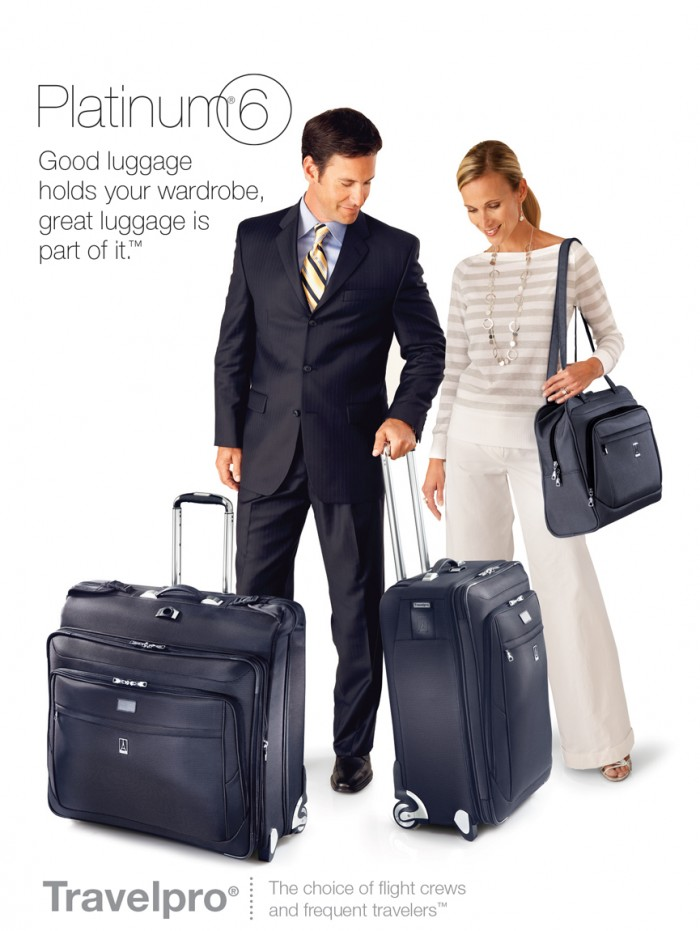 TravelPro luggage_product photography