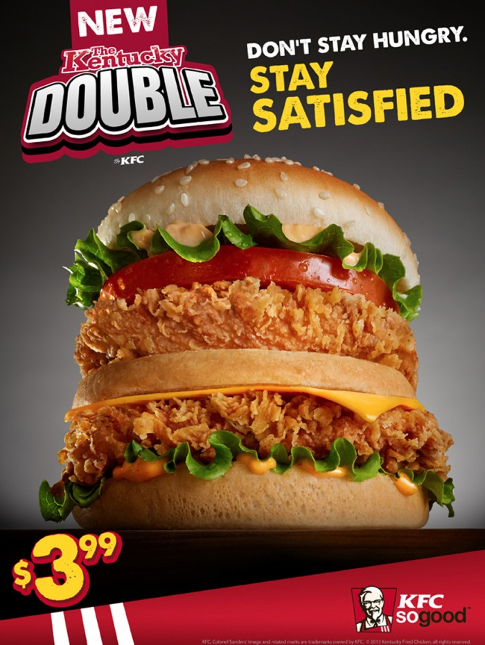 double chicken_sandwich KFC